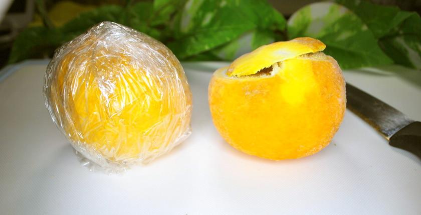 柚子の保存法(冷凍)