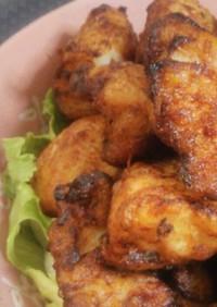 塩麹で鶏から揚げ