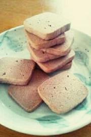 材料3つ☆和風こし餡クッキーの写真
