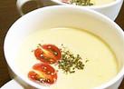 冷たい〜ずぼらな豆乳コーンスープ