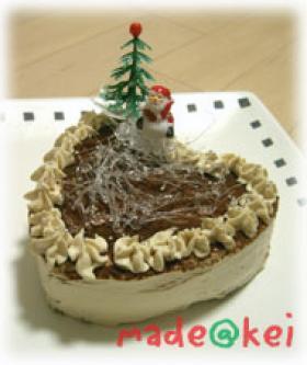 05年クリスマスケーキティラミス風ケーキ