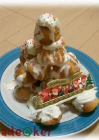 05年クリスマスケーキ★ミニシューツリー