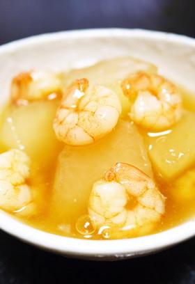 夏に食べたい!冬瓜の海老あんかけ