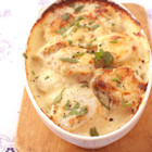里芋とタラのクリームグラタン