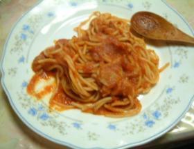 スパゲッティートマトソース