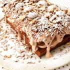 焼き栗とくるみのチョコレートケーキ