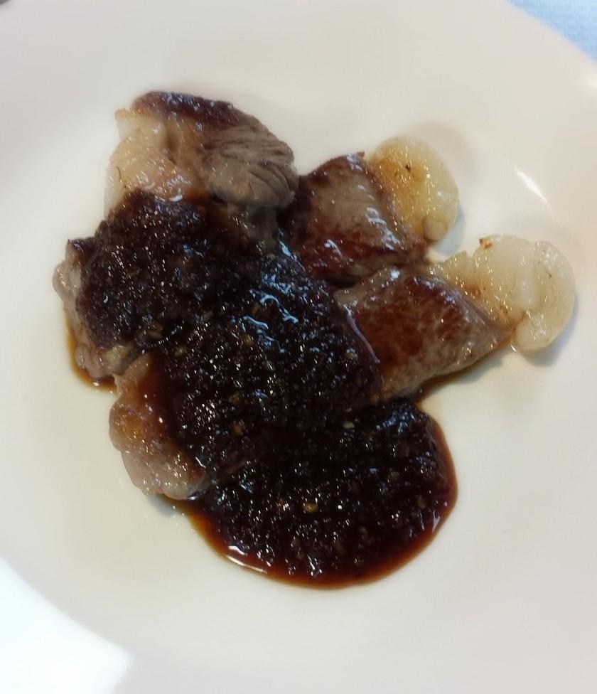 黒ニンニクで自家製焼き肉のタレ