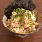 鮭缶の混ぜご飯