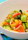 5分でできる簡単サラダ
