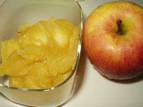 栗どろぼうにはリンゴで対抗!