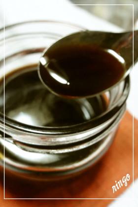 黒糖で手作り簡単♡黒蜜♡