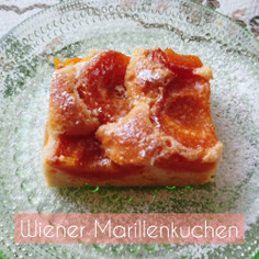 ウィーン風杏ケーキ