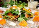 ♪サーモン&カリッと素揚げ野菜のサラダ♪
