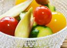 夏野菜のお漬物(トマト・きゅうり・茗荷)