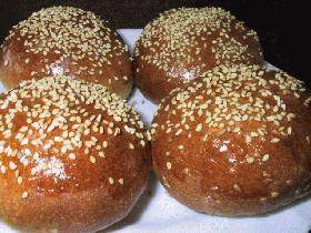 ごまときなこのパン