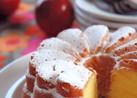 りんごのクリームケーキ