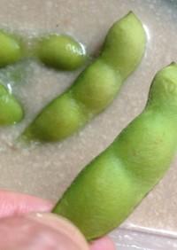 美味❤枝豆の漬物