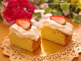 チーズケーキパウンド☆簡単カフェケーキ
