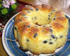 黒豆とゆず茶のバターケーキ