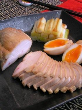 鶏胸肉で簡単和風チャーシュー