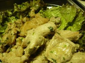 マグロステーキ~オリーブ&バジル風味