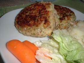 肉なし!玄米ハンバーグ