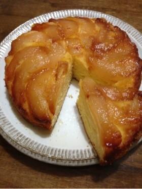 とっても簡単♪梨のケーキ♡