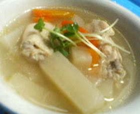 *鶏と大根のスープ*