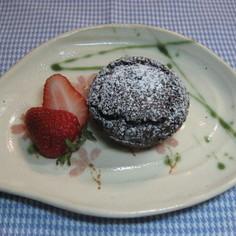 米粉と豆腐のガトーショコラ風ケーキ