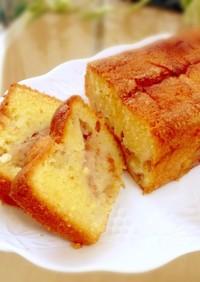 ボウルひとつ☆簡単いちじくパウンドケーキ
