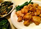 カレー風味の鶏のくわ焼き