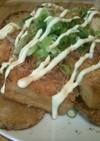 長いもと厚揚げの生姜醤油焼き