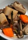 高野豆腐とこんにゃくの煮物