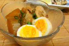 *簡単*大根と半熟卵の煮物*
