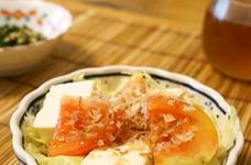 *簡単*豆腐とミニトマトのサラダ*