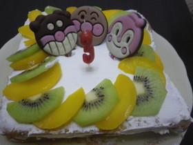 簡単☆アンパンマン☆キャラケーキ