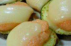 茄子の明太マヨチーズ焼き