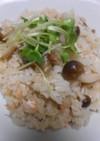 きのこと秋鮭の炊き込みご飯