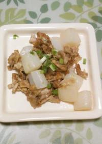 超簡単♪ 豚肉と蒟蒻炒め