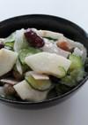 きゅうり梨ビーンズこんにゃく寒天サラダ