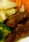 ヨシダソースdeバックリブの煮物