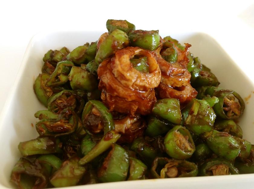 冷凍お弁当お野菜おかず:ししとう味噌金平