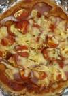 ふすま入りピザ