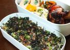小松菜と海苔のふりかけ♪