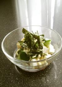 長芋ときゅうりのサイコロサラダ