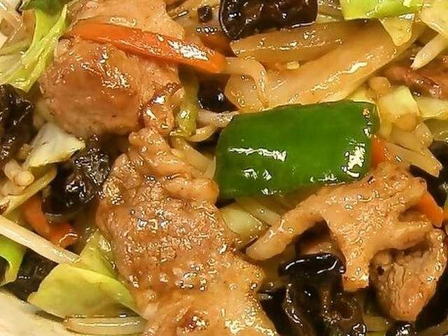 中華 野菜炒め