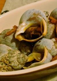 超簡単!つぶ貝の生姜煮