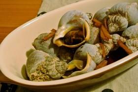 つぶ貝の生姜煮
