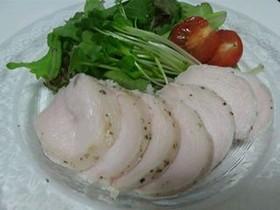 炊飯器&塩麹で簡単☆しっとり柔らか鶏ハム