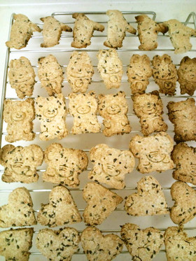 生おからとホットケーキミックスでクッキー